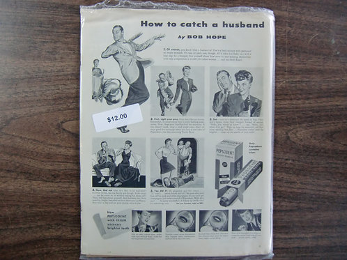 How to catch a husband-Bob Hope