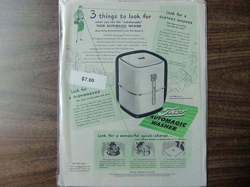 Thor automatic washer