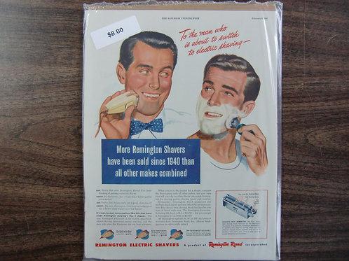 Remington electric shaver's