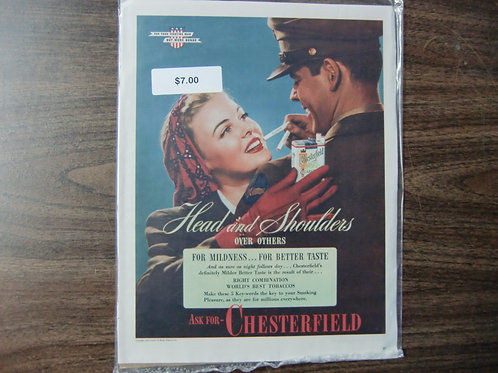 Chesterfield-head and shoulders