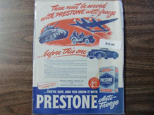 Prestone Antifreeze