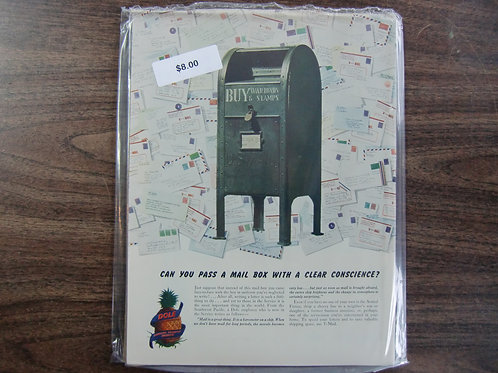 Dole pineapple-mailbox