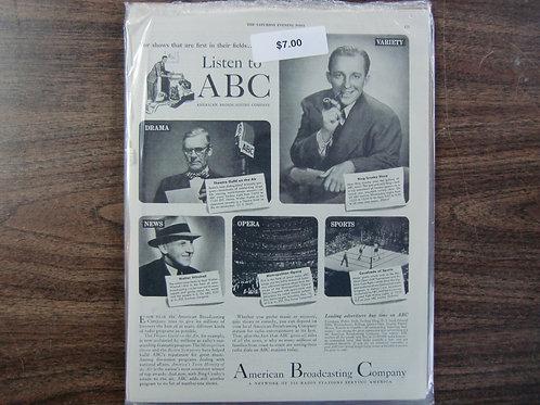 ABC Bing Crosby