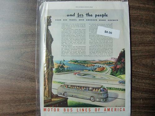Motor bus lines of America