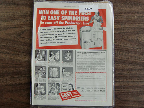 Easy spin dryers