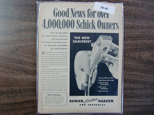 Schick shaver
