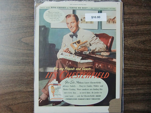 Chesterfield-Bing Crosby