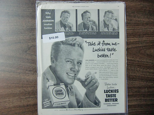 Van Johnson- Lucky strike