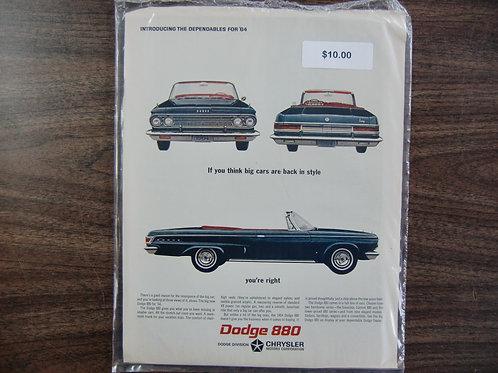 Dodge 880