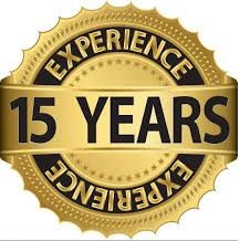 15 years experiance
