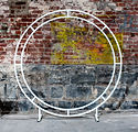 The Posie Place_White Circular Arbour_Po
