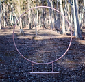 The Posie Place - Rose Gold Circular Arb