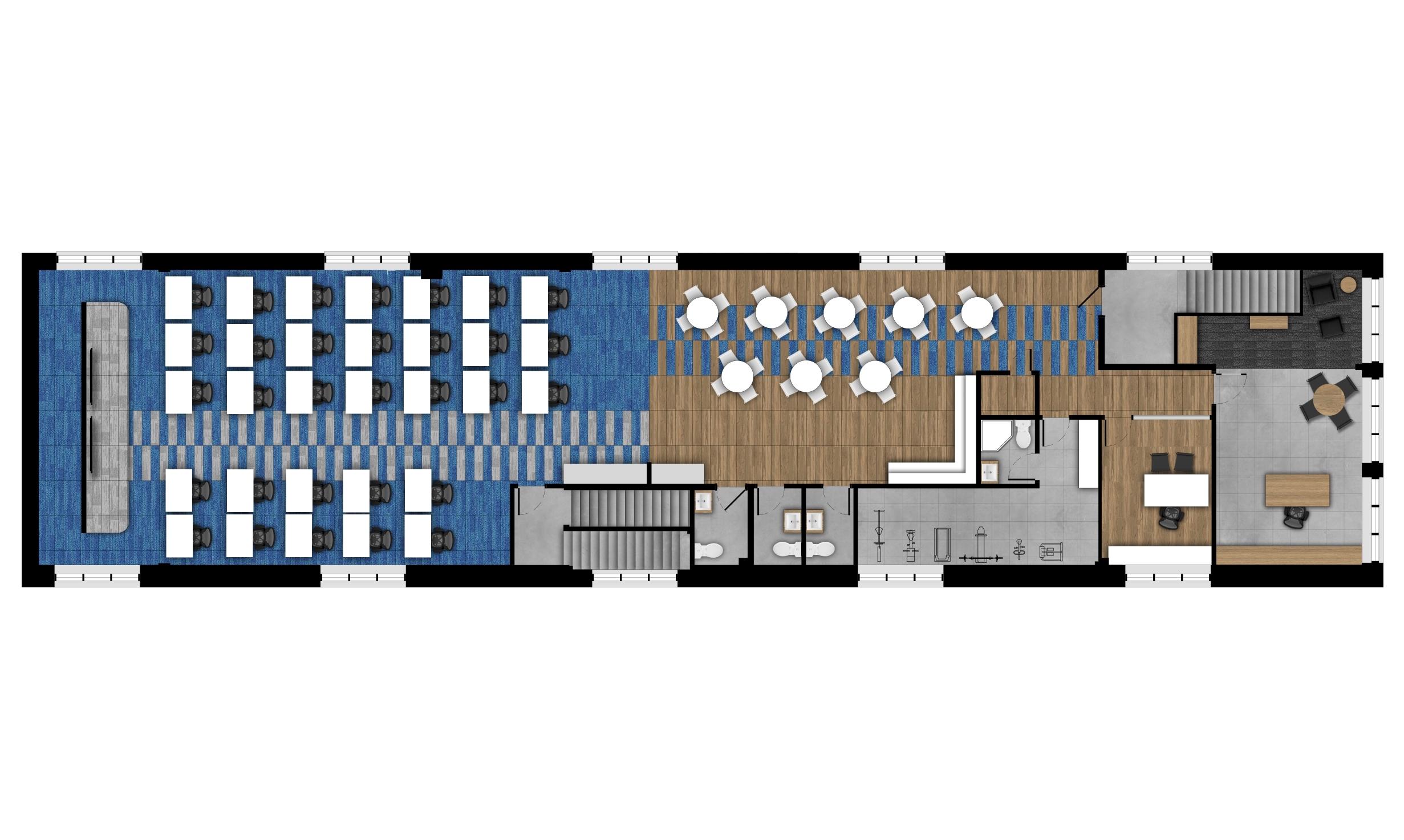 Plan d'aménagement - niveau 3