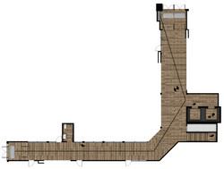 Plan couloir rez-de-chaussée