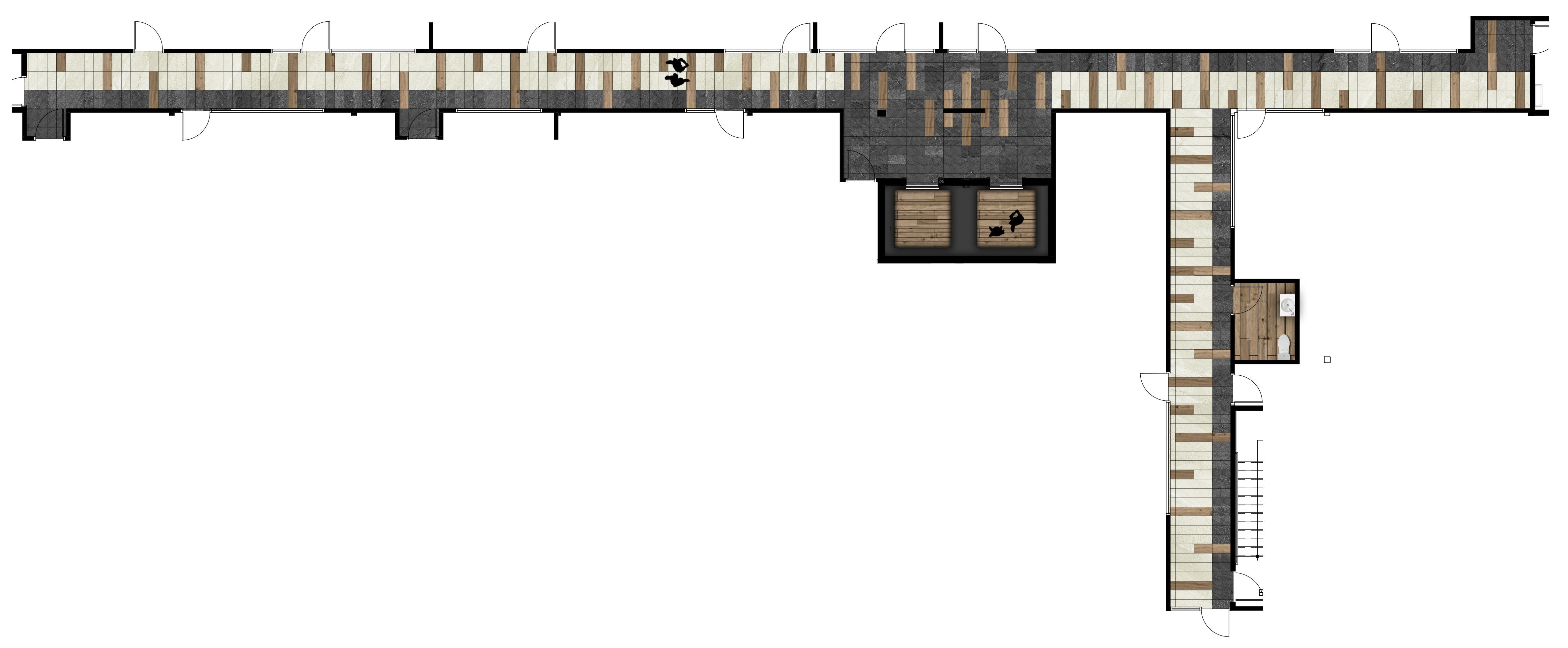 Plan couloir Niveau 2