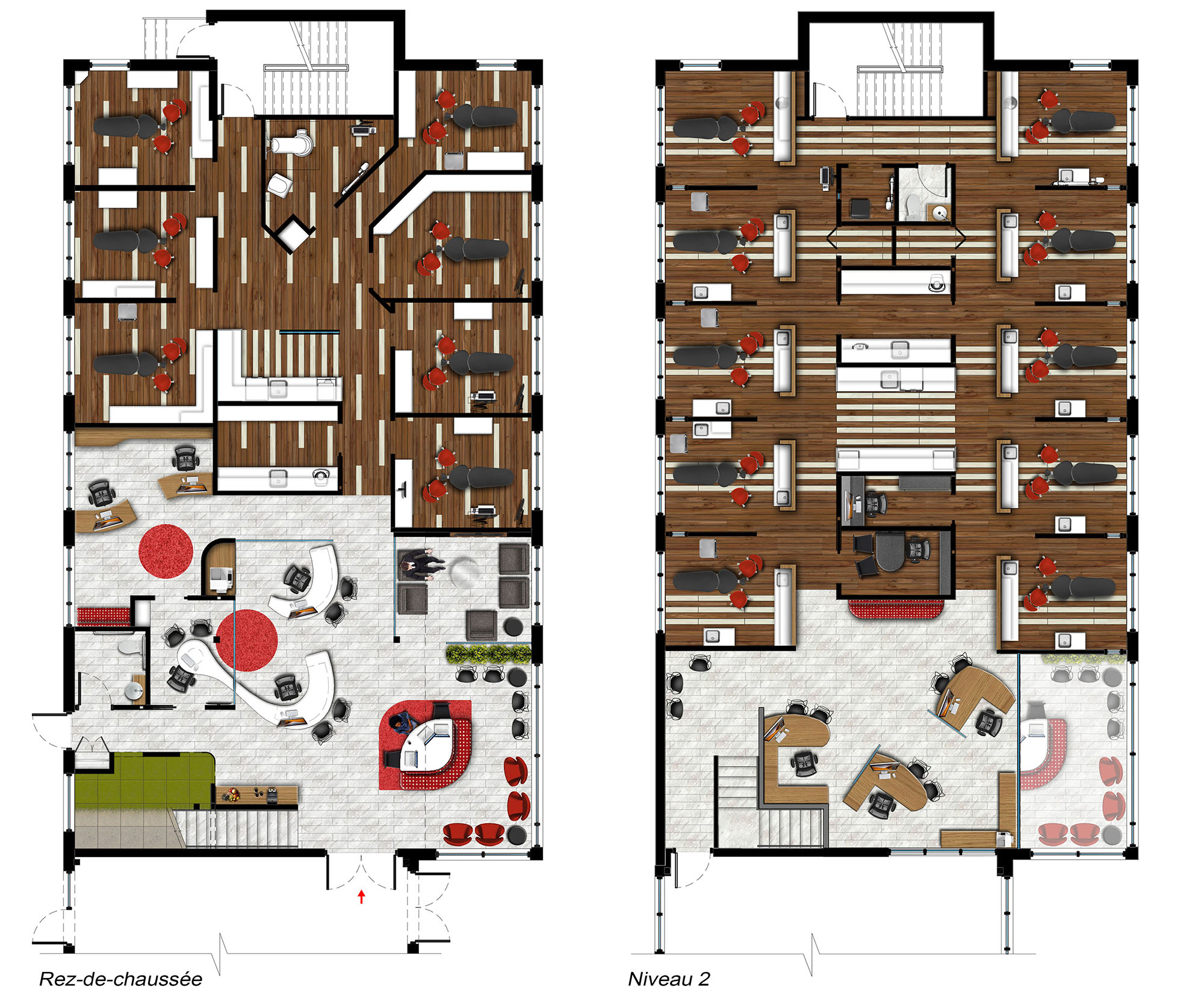 Plans d'aménagement