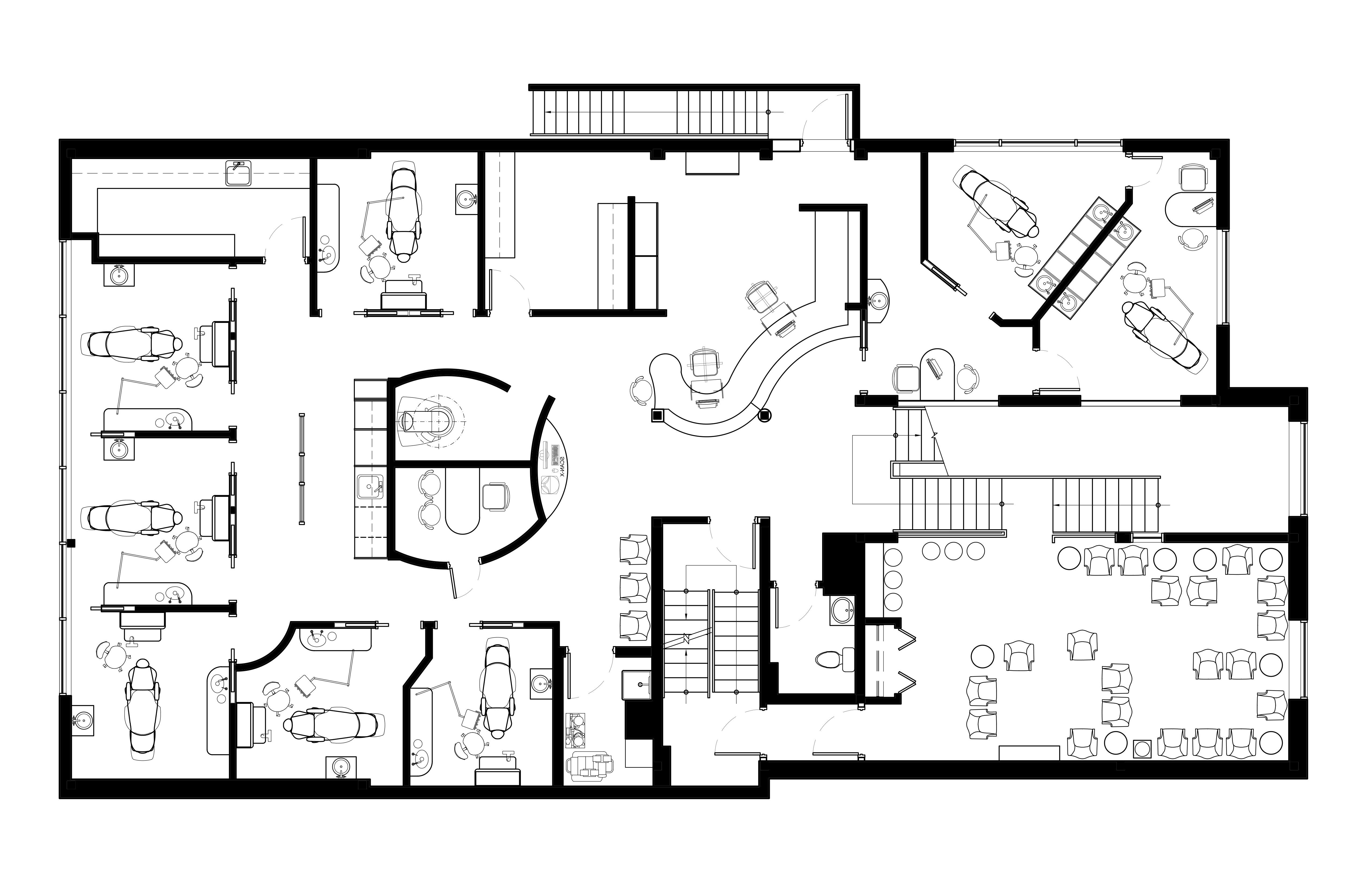 Plan d'aménagement niveaux 2 & 3