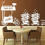 New-arrival-Coffee-shop-wall-stickers