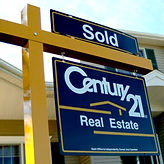 Century 21 Real Estate sign