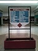Directory Signs Company Near Houston, TX