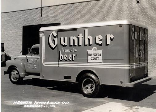 Gunther Beer Truck