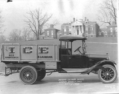 1920 ice truck