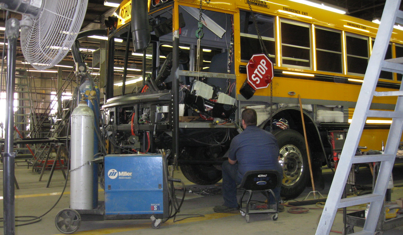 Bus Repair in Progress.JPG