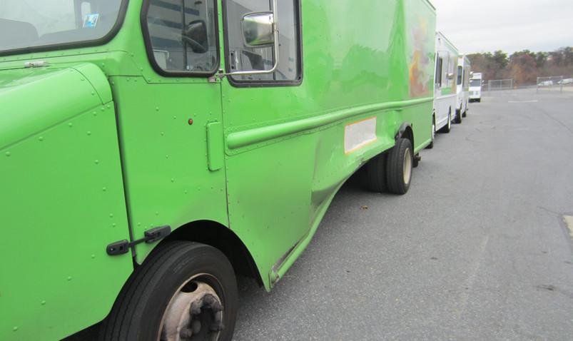 Green Stepvan Damages Front.jpg