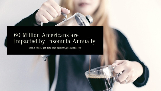 60 Million Americans are Impacted by Insomnia Annually