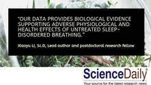 New Study Confirms Sleep-Disordered Breathing is Associated with Accelerated Aging