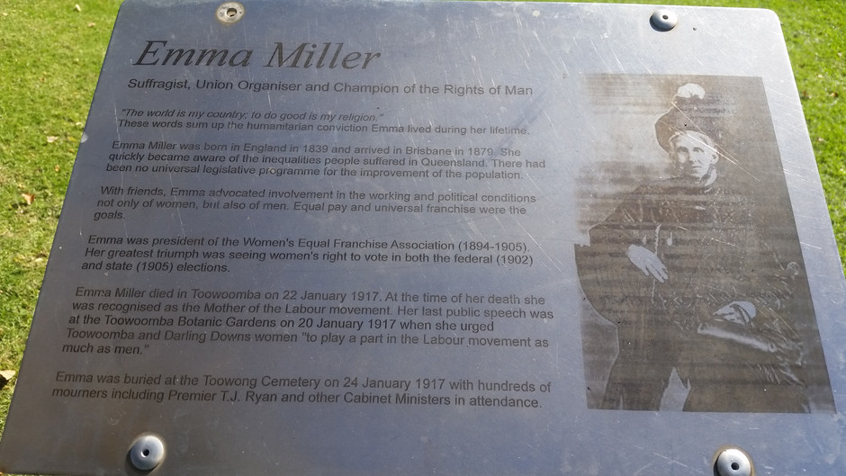 The Remarkable Life of Emma Miller.