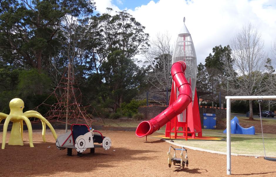 Picnic Point - The Rocket Ship Returns