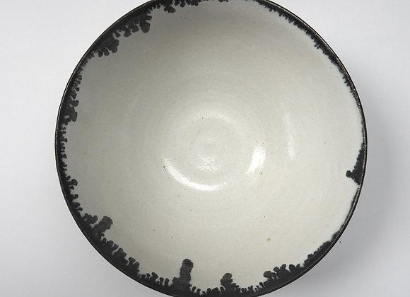 Metallic Rim Bowl