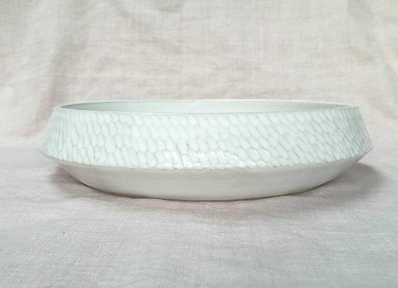Hand Carved Serving Bowl