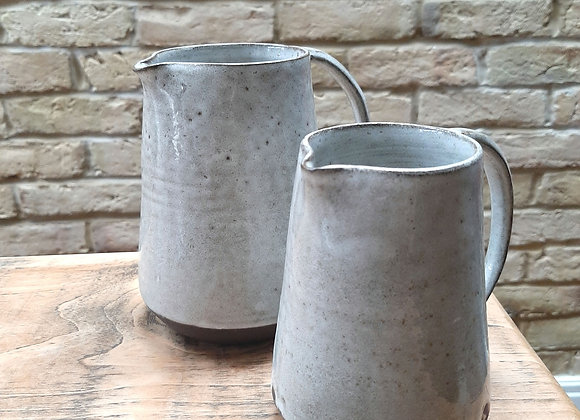 Handmade Black clay jug