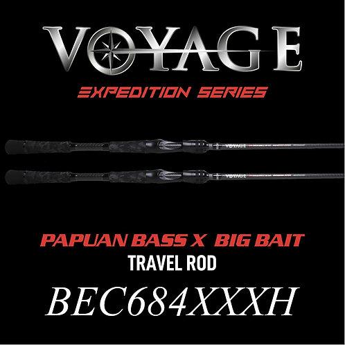 Rod Bone BEC684XXXH Cast Travel 4pc 6ft8inch PE3-6