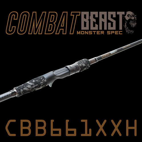 Rod Bone CBB661XXH Fast Baitcast 1pc 6ft6inch PE2-4