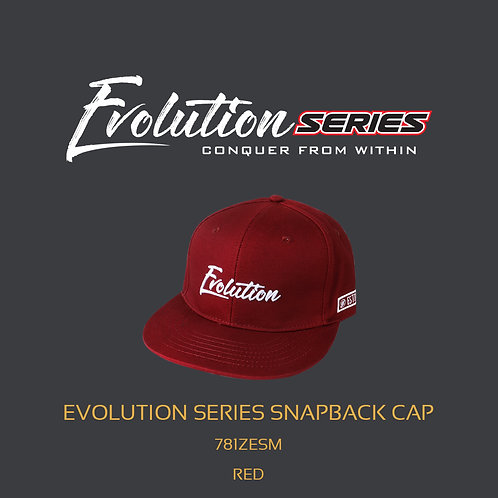 EVOLUTION SERIES SNAPBACK CAP