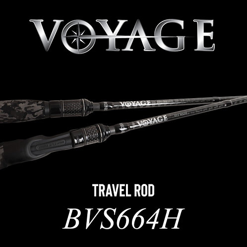 Rod Bone BVS664H Spin Travel 4pc 6ft6inch PE1-2.5