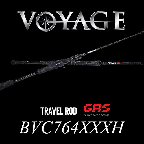 Rod Bone BVC764XXXXH Cast Travel 4pc Fast 7ft6in PE5-8