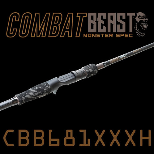 Rod Bone CBB681XXXH Fast Baitcast 1pc 6ft8inch PE3-6
