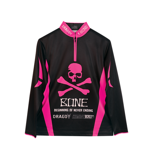 Apparel Bone CFPL Jersey Long Black Pink