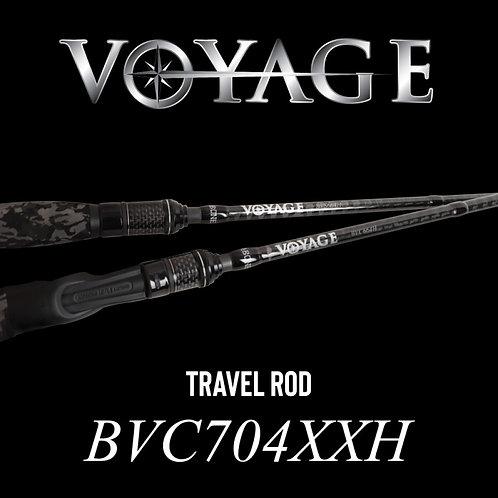 Rod Bone BVC704XXH Cast Travel 4pc 7ft PE2-4