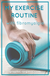 My Exercise Routine With Fibromyalgia: person rolling up yoga mat