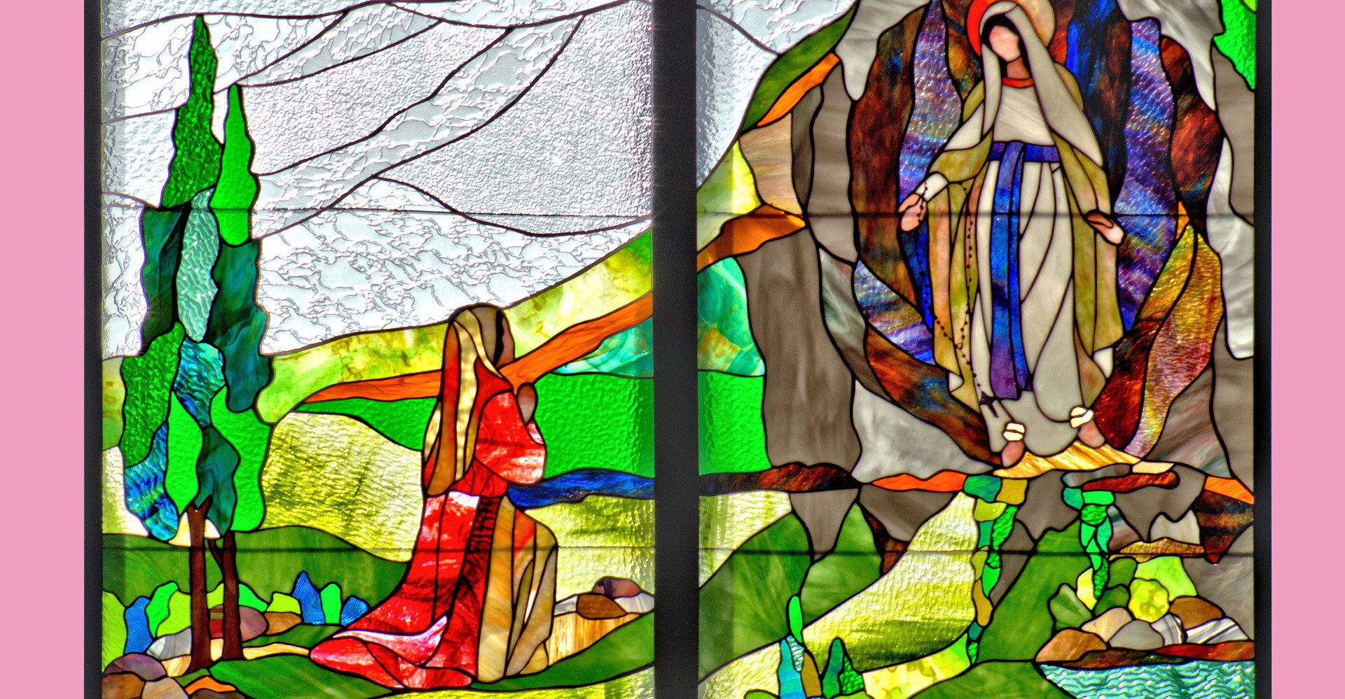 Apparition de Marie à Bernadette