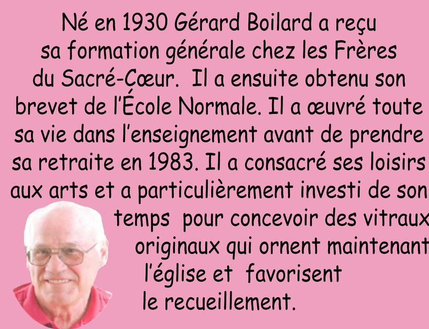 M. Gérard Boilard
