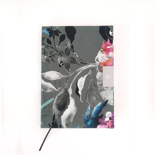 Buchhülle A5 Motiv Flowergarden