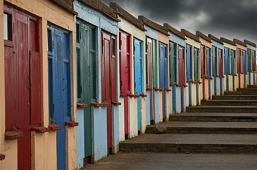 Beach Huts at Bude
