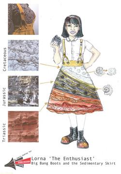 Sedimentary Skirt - 2017