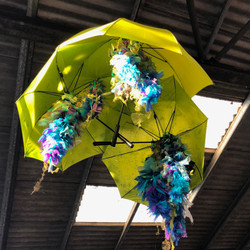 Wisteria Umbrellas - Purbeck Folk